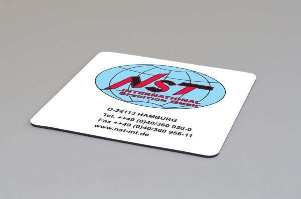 Untersetzer Kautschuk mit eigenem Logo bedruckt